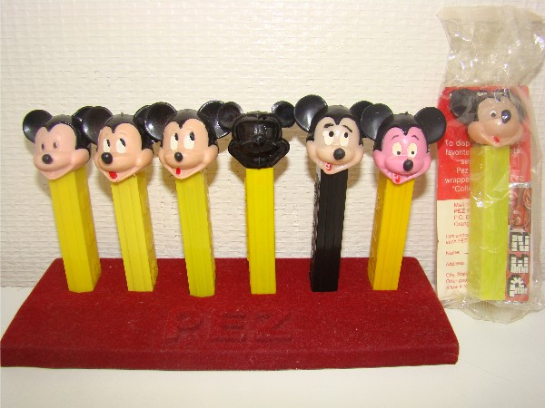 Pez Mickey no feet