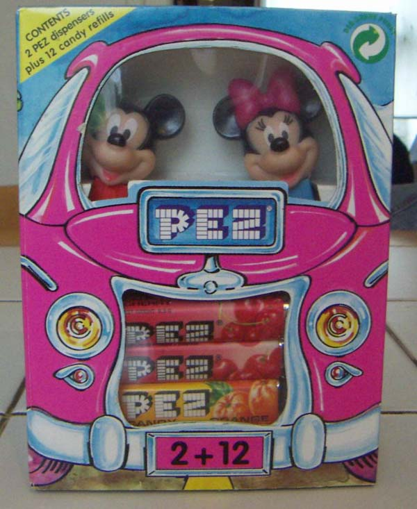 box of candy pez