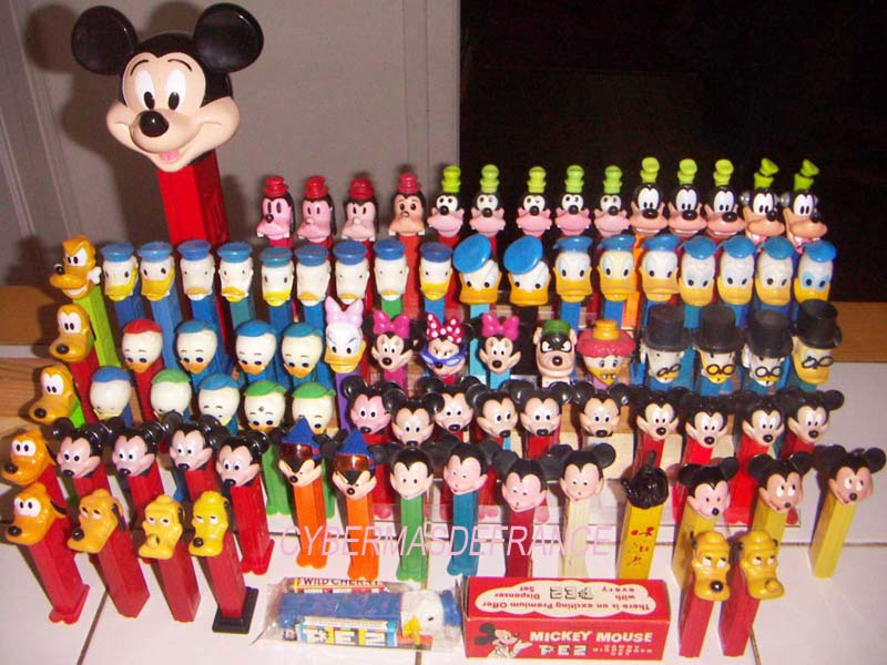 mickey Pez dispensers